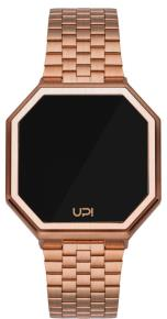UPWATCH EDGE MATTE ROSE GOLD