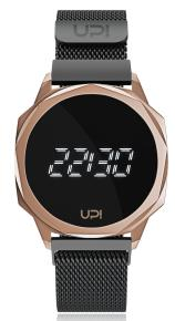 UPWATCH ICON ROSE BLACK LOOP BAND